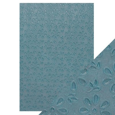 Tonic Studios Hand Crafted Cotton Paper A4 - Floral Lace 9875E