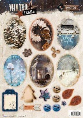 Studio Light Stansvel - Winter Trails nr. 629 EASYWT629