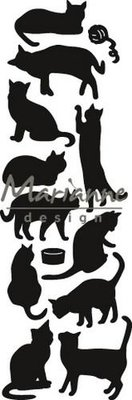 Marianne Design Craftable - Punch Die Cats CR1451 (pre-order)