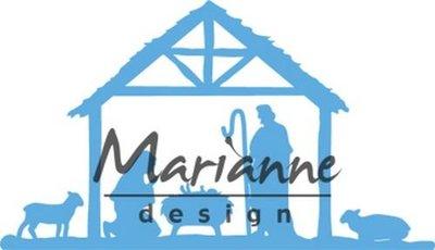 Marianne Design Creatable - Kerststal LR0559 (pre-order)