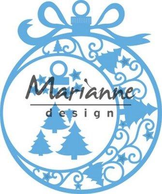 Marianne Design Creatable - Kerst ornament groot LR0560 (pre-order)