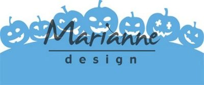Marianne Design Creatable - border pompoenen LR0562 (pre-order)