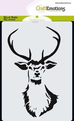 CraftEmotions Mask - Rendier kop