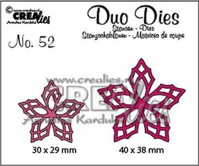 Crealies Duo Dies 52 - Bloemen 23