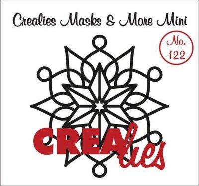 Crealies Masks & More Mini 122 - Snowflake A