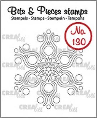 Crealies Bits & Pieces 130 Sneeuwvlok B