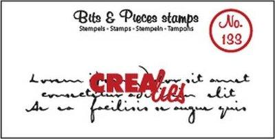 Crealies Bits & Pieces 133 Oud Handschrift