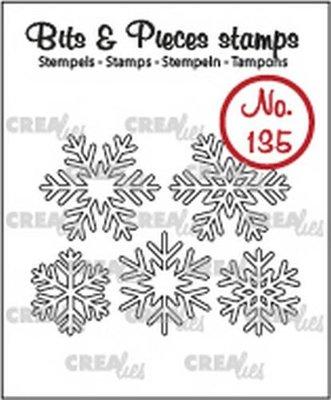 Crealies Bits & Pieces 135 Sneeuwvlok