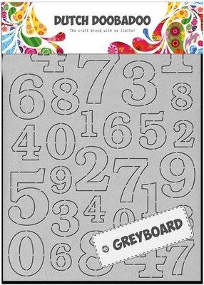 Greyboard Dutch Doobadoo - Cijfers 492.500.004