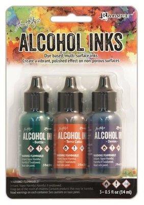 Ranger Alcohol Ink Kit - Rustic Lodge TIM19770