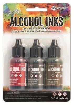 Ranger Alcohol Ink Kit - Tuscan Garden TIM20707