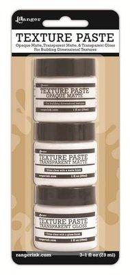 Ranger Texture Paste - Set van 3 INK48084