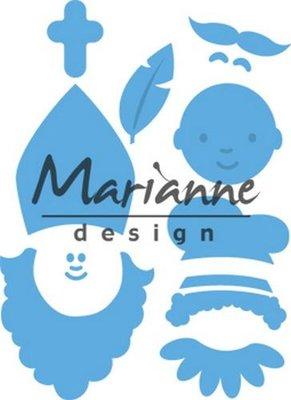Marianne Design Creatable - Sinterklaas & Pieterbaas LR0565 (pre-order)