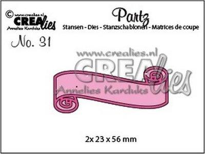 Crealies Partz 31 - Banner