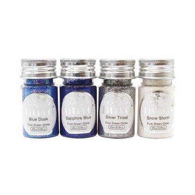 Nuvo Pure Sheen Glitter - Let it Snow 297N