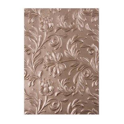 Sizzix 3-D Texture Fades Embossing Folder - Botanical 662716