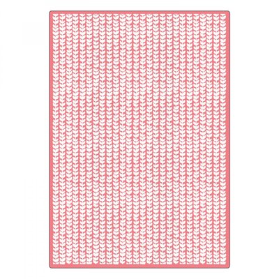 Sizzix Textured Impressions Plus Embossing Folder - Happy Texture 660876