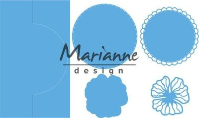 Marianne Design Creatable - Anja's Vertical Folding Die Circle LR0570