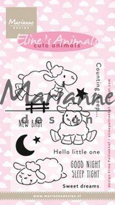Marianne Design Stempel - Eline's Cute Animals - Sheep EC0175 (pre-order 1-19)
