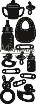 Marianne Design Craftable - Punch Die Baby CR1456 (pre-order 1-19)
