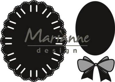 Marianne Design Craftable - Oval Ribbon CR1458 (pre-order 1-19)