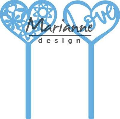 Marianne Design Creatable - Heart Pins LR0573 (pre-order 1-19)