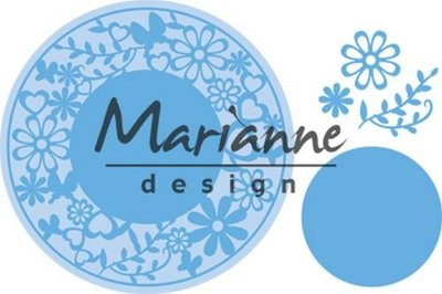 Marianne Design Creatable - Flower Frame LR0574 (pre-order 1-19)