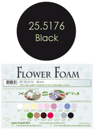 Leane Creatief Flower Foam - Zwart 25.5176