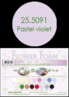 Leane Creatief Flower Foam - Pastel violet 25.5091
