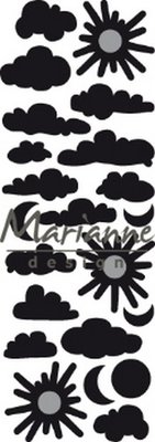 Marianne Design Craftable - Punch Die Clouds CR1459 (pre-order 02-19)