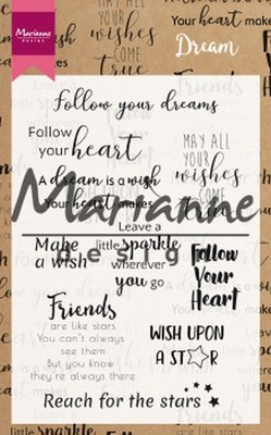 Marianne Design Stempel - Dream Sentiments UK CS1018 (pre-order 02-19)
