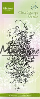 Marianne Design Stempel - Tiny's Border Bouquet TC0872 (pre-order 02-19)