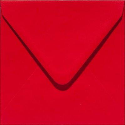 Papicolor Envelop Original 14 x 14 cm - Rood 303918