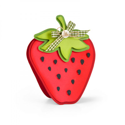 Sizzix Framelits Die Set - Strawberry Fold-its 664115