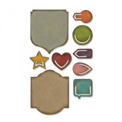 Sizzix Sidekick Side-order - Tim Holtz Noted 664150