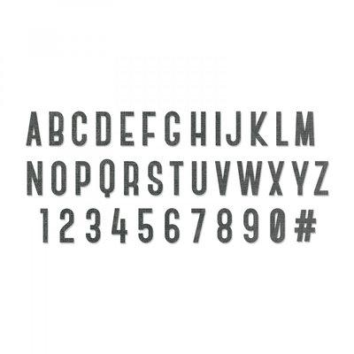 Sizzix Bigz XL Die - Cutout Script 664169