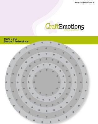 CraftEmotions Die - Cirkels Vintage