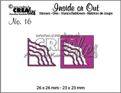 Crealies Inside or Out 16 - Corners J CLIO16