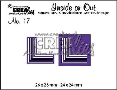 Crealies Inside or Out 17 - Corners K CLIO17