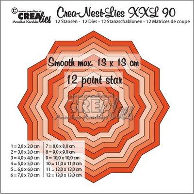 Crealies CREA-NEST-LIES XXL 90