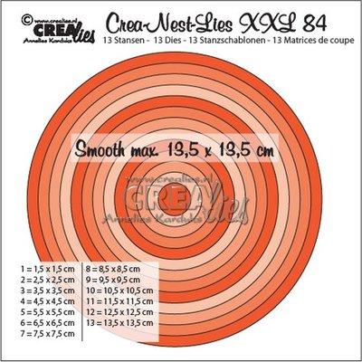 Crealies CREA-NEST-LIES XXL 84
