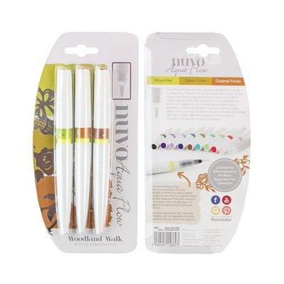 Nuvo Aqua Flow Pens - Woodland Walk 869N