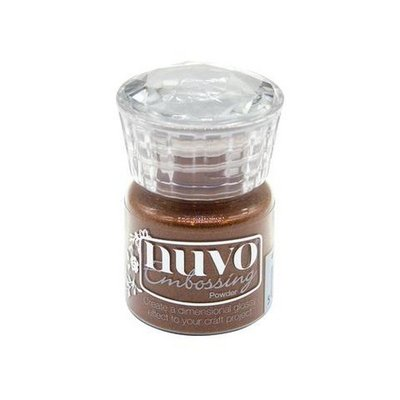 Nuvo Embossing Poeder - Copper Blush 613N (pre-order 04-19)