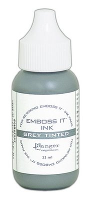 Ranger Emboss It Re-Inker Grey EMB65562