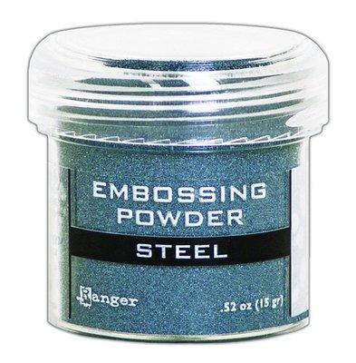 Ranger Embossing Poeder Metallic - Steel EPJ66873
