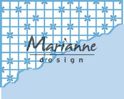 Marianne Design Creatable - Anja's Grid Corner LR0585 (pre-order 03-19)