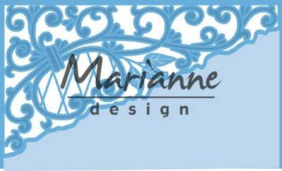 Marianne Design Creatable - Anja's Swirl Corner LR0584 (pre-order 03-19)