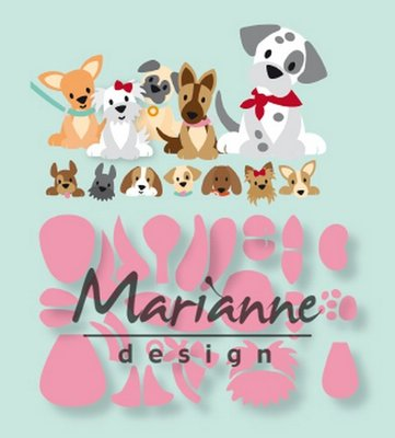 Marianne Design Collectable - Eline's Puppy COL1464