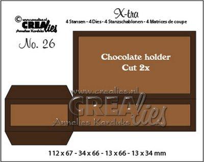 Crealies X-tra - Chocolade Houder