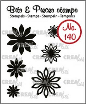 Crealies Bits & Pieces 140 Mini Bloemen 17
